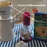 Die Kaffeemaschine