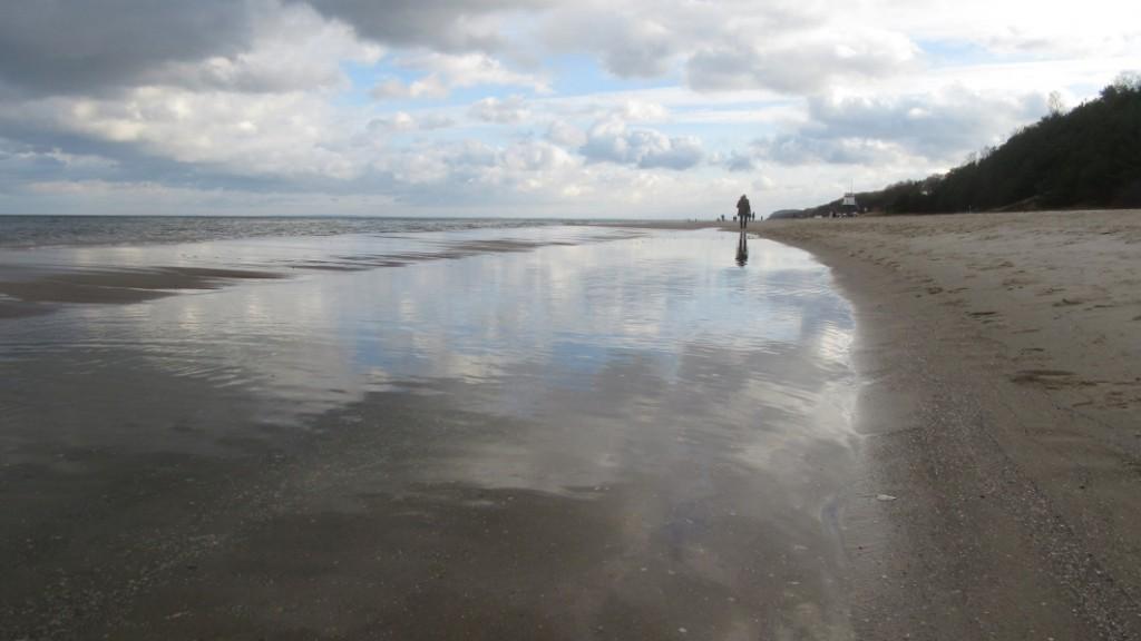 Besinnlichkeit am Strand von Ückeritz